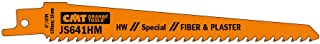 """CMT JS641HM-2 Tungsten Carbide Tipped reciprocating Sabre Saw Blade, 6 TPI Universal Shank, 5-1/8"""""""