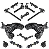 14 Piece Front Steering & Suspension Kit Control Arms Ball Joints Tie Rods