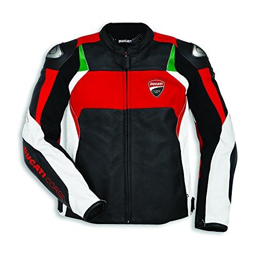 Ducati Corse C3 Dainese Lederjacke schwarz Größe 54