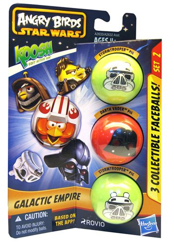 Koosh - A2633E240 - Figurine - Angry Birds - Galactic Empire