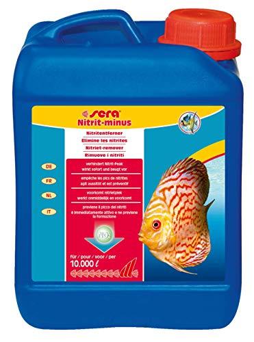 sera 32300 Nitrit-minus ml rimuove immediatamente 1, 5 mg/l di nitrito dall'acqua di acquario