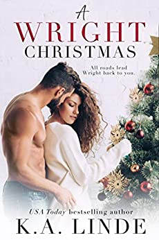 A Wright Christmas: A Single Dad Holiday Romance by [K.A. Linde]