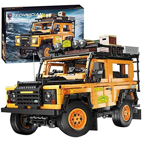 Trueornot Technik Bausteine SUV, 2126stk Technic Geländewagen Modell Bauset Kompatibel mit Lego Technik