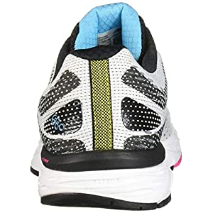 New Balance Women's 680 V6 Running Shoe, White/Black/Bayside, 9 M US