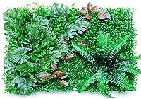緑の壁にスクリーン保護用外柵緑の草、秘密のパネルの画面に近い人工カバーシート、UV保護プライベート視聴外装フェンス庭の家のインテリア,赤