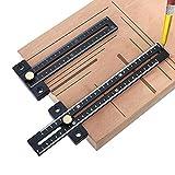 SUSHOP Regla de medición Calibre, 180/280 mm de Acero...