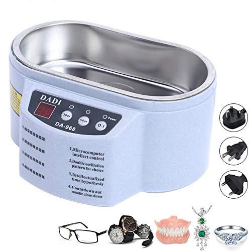 TTBF Mini Ultraschall-Reiniger Schmuck Brille Circuit Board-Reinigungs-Maschine Intelligente Steuerung für Hausbank Bürobedarf