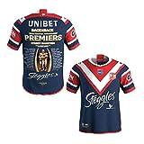 WXFO Jersey de Football de Championnat Australien, Jersey de Rugby pour Hommes, Sweat en Jersey de Rugby de Rugby pour Jeunes, t-Shirt à Manches Courtes T-Shirt Sports to XXXXXL