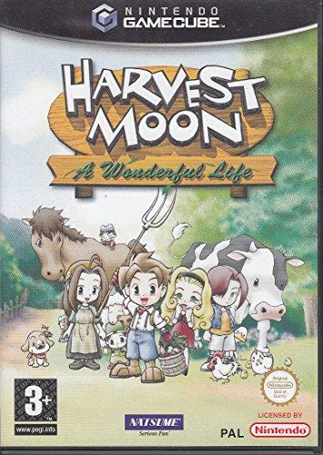 GameCube - Harvest Moon: A Wonderful Life (ENGLISCH) (mit OVP) (gebraucht)