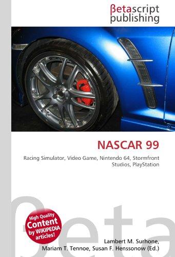 NASCAR 99: Racing Simulator, Video Game, Nintendo 64, Stormfront Studios, PlayStation
