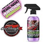 Pearl Nano Speedcoat - Protector de cerámica con pulverizador para lavado de coche, sellador de pintura para coches, gran brillo, sin agua, sin tinte añadido, 500ml