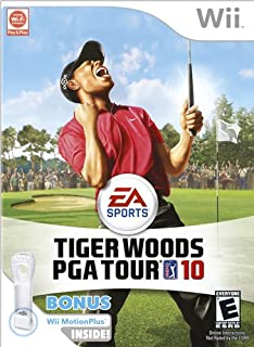 Tiger Woods PGA Tour 10 Wii Motion Plus Bundle
