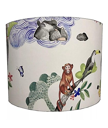 DELPH DESIGN LIGHTING LTD 20,3cm Ceiling Arizona Jungle Animal Monkey Themed Lampshades