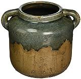 IMAX 13325 Bardot Blue Stone Large Ceramic Vase