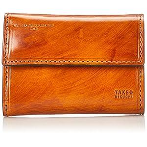 [タケオキクチ] ハンドII小物 三つ折り財布 779602 キャメル