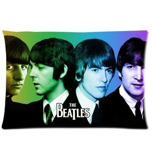 Pop Band De Beatles Aangepaste Kussensloop Sham Queen Size Kussen Hoesje Twee Zijkanten Gedrukt 16x24 Inch Number-3