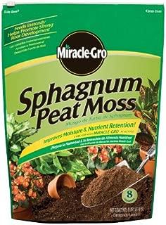 Miracle-Gro 0059472-323 Sphagnum Peat Moss - 8 Quart