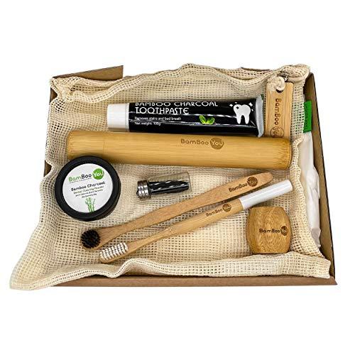 Natural Bamboo Teeth Whitening K...