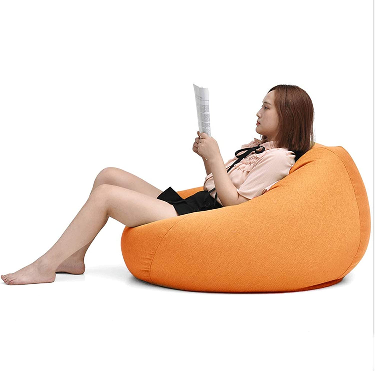 Lazy Couch Bean Bag Small Apartment Bedroom Single Tatami Lazy Ground Small Sofa (color   D)