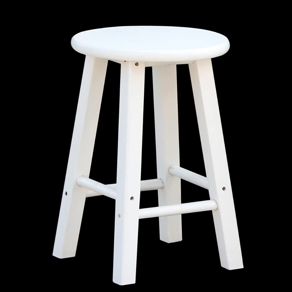 DNSJB Bar Retro Wood Step Stool Wooden OFFicial shop Adults Ladder In stock Kitchen for