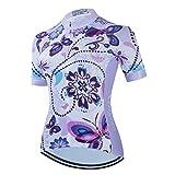 Women's Cycling Jersey Short Sleeve Bike Jacket Biking Shirt Quick Dry Breathable Mountain Bicycle Clothing