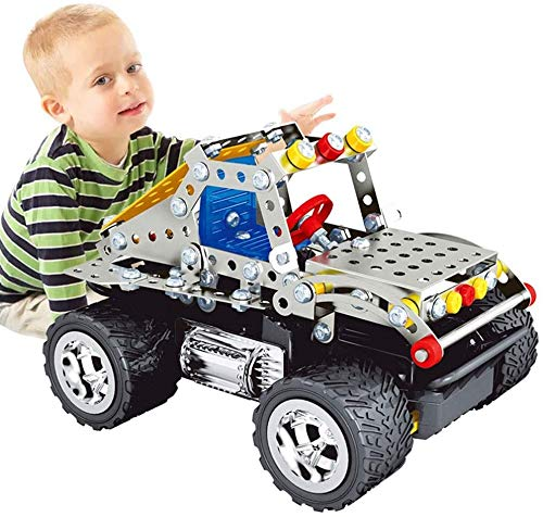 WANGCH Metallmontiertes Hummer-ferngesteuertes Auto Hochgeschwindigkeits-Offroad-Klettern Racing Boy Aufladen von Kinderspielzeug Zusammenbau eines ferngesteuerten Autospielzeugs, Boy Metal-Modell