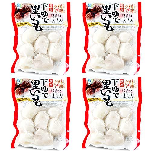 里芋水煮170g×4袋(下ゆで里いも)国産サトイモ使用(簡単 便利 水煮)煮物 汁物 うま煮(下茹で里芋)料理のみかた(いも煮 グラタン コロッケ)