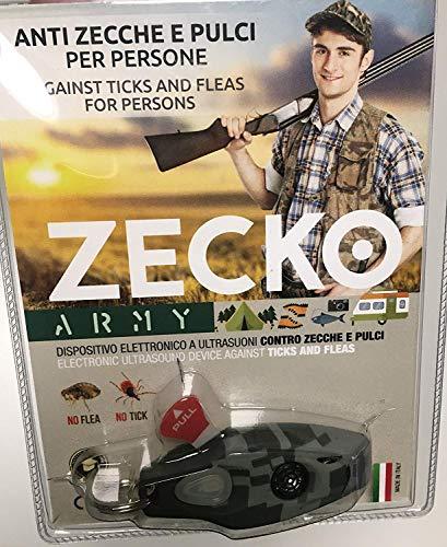ZECKO per tenere lontane PULCI e ZECCHE per persone - dispositivo elettronico