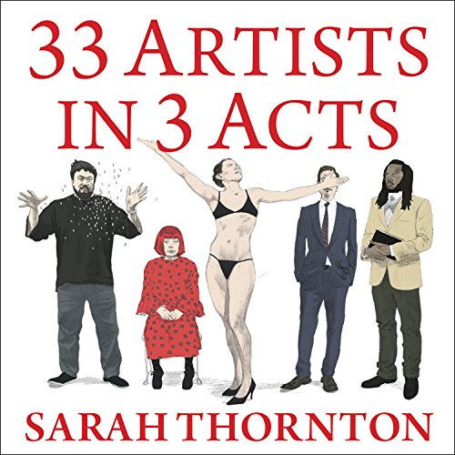 33 Artists in 3 Acts audiobook cover art