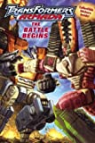 Transformers Armada: The Battle Begins (Transformers Armada Chapter Books)