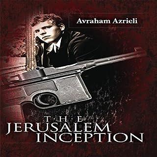 The Jerusalem Inception audiobook cover art