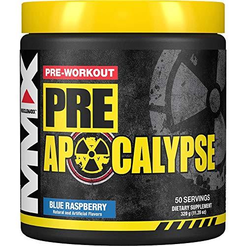 MuscleMaxx Pre Apocalypse Pre-Workout Blue Wraithberry 11 28 oz 320 g