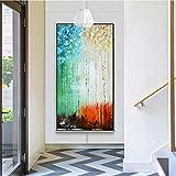 Árboles forestales Pintura de Paisaje Pintura al óleo sobre Lienzo decoración...