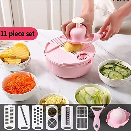 Mehrzweck Manueller Cutter Slicer Küchenreibe Edelstahl Fachmann Küchenutensilien zum Schneiden Früchte, Gemüse