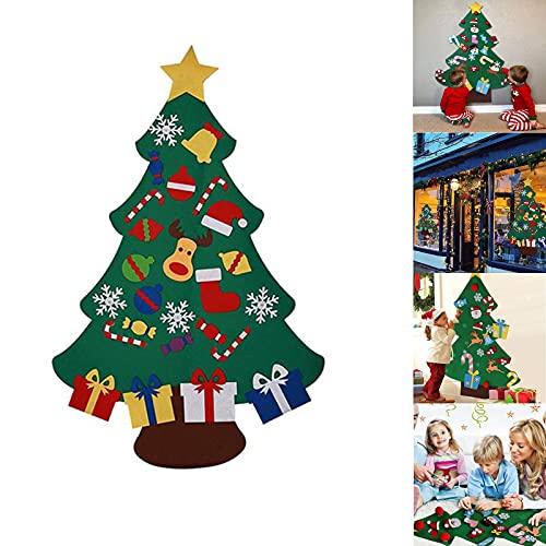 Majome Stella di Natale Glitterata 10 Pezzi, Natale Ornamento, Natale Ornamenti Addobbi Natalizie, Ghirlanda Decorativa della Porta d'ingresso, Hanging Decoration for Home Party