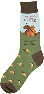 Foot Traffic, Men's Animal-Themed Socks, Fits Mens Shoe Sizes 7-12