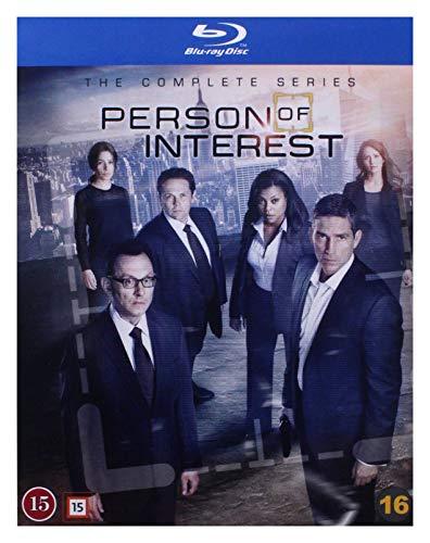 Person of Interest: The Complete Series 19-Disc Boxset [ Origine Danese, Nessuna Lingua Italiana ] (Blu-Ray)
