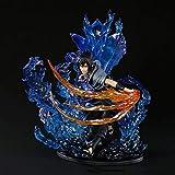 SYLYCS Anime Naruto Uchiha Itachi Uchiha Sasuke Figura PVC Material Combinación Modelo En Caja Perso...