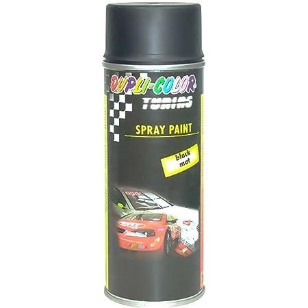 Dupli Color 191572 Tuning Felgen Lackspray Spray Paint Mat 400 Ml Schwarz Auto