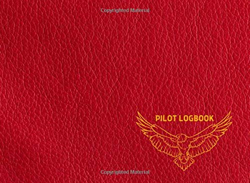 """Drone Pilot Logbook: Logbook for Drone Operators and Pilots, Gifts for Amateur and Professional Pilotes, Cute Red cover, 150 pages, Size 8.2"""" x 6"""""""