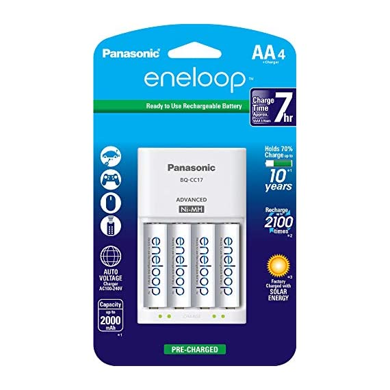 Panasonic-K-KJ17MCA4BA-Advanced-Individual-Cell-Battery-Charger-Pack-with-4-AA-eneloop-2100-Cycle-Rechargeable-Batteries