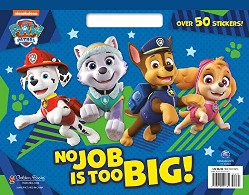 No Job is Too Big! (Paw Patrol) (Big Coloring Book)