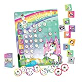 Unicorn Chart to Success| Magnetic Dry Erase| Daily Routine Responsibility Chore Chart for Kids| 80 Reward Tiles| 70 Tasks, Including Behavior and Self-Care| Fun Design for Girls| Raising a Star