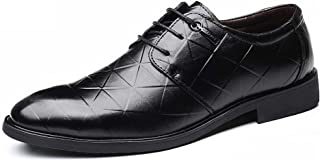 [Kayaa] ビジネスシューズ 本革 紳士靴 メンズ 革靴 軽量カジュアル レースアップ シューズ 通勤 通学 就職 結婚式 仕事 おしゃれ 滑り止め オフィス レースアップシューズ