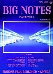 Partition : Big notes, volume 4
