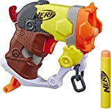 NERF Microshots Overwatch Roadhog Blaster -- Includes 2 Official Elite Darts -- for Kids, Teens, Adults