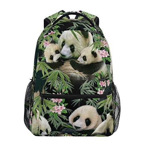 Panda Backpack School Bookbag for Boys Girls 2110010