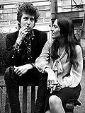 Celebrity Photos Bob Dylan and Joan Baez Photo Print (20,32
