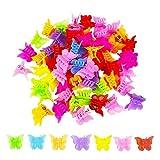 100 Packs Butterfly Hair Clips, Girls Beautiful...