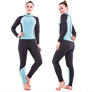 Men Women's Full Wetsuits Thermal Suit Sleeves 3mm Neoprene Youth Adult's Diving Swimming Snorkeling Surfing Scuba Jumpsuit Warm Swimwear